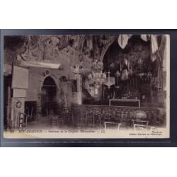 46 - Rocamadour - intérieur de la chapelle Miraculeuse - Non voyagé - Dos d...