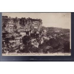 46 - Rocamadour - Vue générale prise du Causse - Non voyagé - Dos divisé...