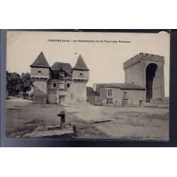 46 - Cahors - La Barbacane et la tour des pendus - Non voyagé - Dos divisé...