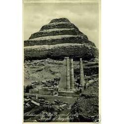 Egypte - Sakkara - La pyramide et le temple