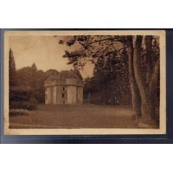 46 - Sousceyrac - Château de Grugnac - Voyagé - Dos divisé...