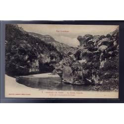 48 - Gorges du Tarn - La Roche Percée - un des sites remarquables des Gorge...