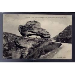 48 - Lacanourgue - le Sabot - Route des Gorges du Tarn - Voyagé - Dos divis...