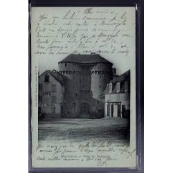 48 - Marvejols - Porte du Soubeyran - Voyagé - Dos non  divisé...