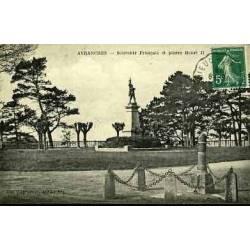 50 - AVRANCHES - SOUVENIR FRANCAIS ET PIERRE HENRI II