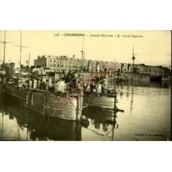 50 - CHERBOURG - ARSENAL MARITIME - LE BASSIN NAPOLEON