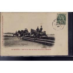 49 - Saumur - Saut de la Haie au Breit. Sous Lieutenant de Cavalerie - Voya...