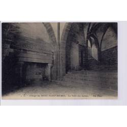 50 - Abbaye du Mont-Saint-Michel - La salle des Gardes - Non voyagé - Dos div