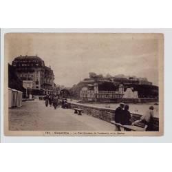 50 - Granville - Le plat Gousset, le Normandy et le Casino - Voyagé - Dos div