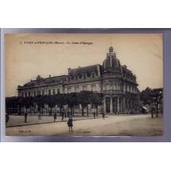 51 - Vitry-le-François - La caisse d' Epargne - Voyagé - Dos divisé