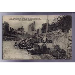 51 - Bataille de la Marne - Maurupt - En allant conduire des munitions sous l