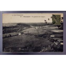 52 - Chaumont - Vue générale des Choignes - Voyagé - Dos divisé
