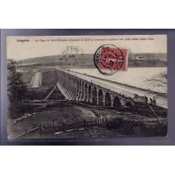 52 - Langres - La digue de Saint-Ciergues alimentant le Canal et contenant 8