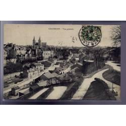 52 - Chaumont - Vue générale - Voyagé - Dos divisé