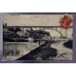 53 - Mayenne - le Viaduc - Voyagé - Dos divisé