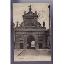 54 - Nancy - Porte Saint-Georges XVIIe siècle - Voyagé - Dos divisé
