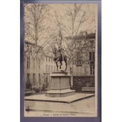 54 - Nancy - Statue de Jeanne d' Arc - Non voyagé - Dos non divisé