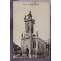 54 - Lunéville - L' église Jeanne d' Arc - Non voyagé - Dos divisé