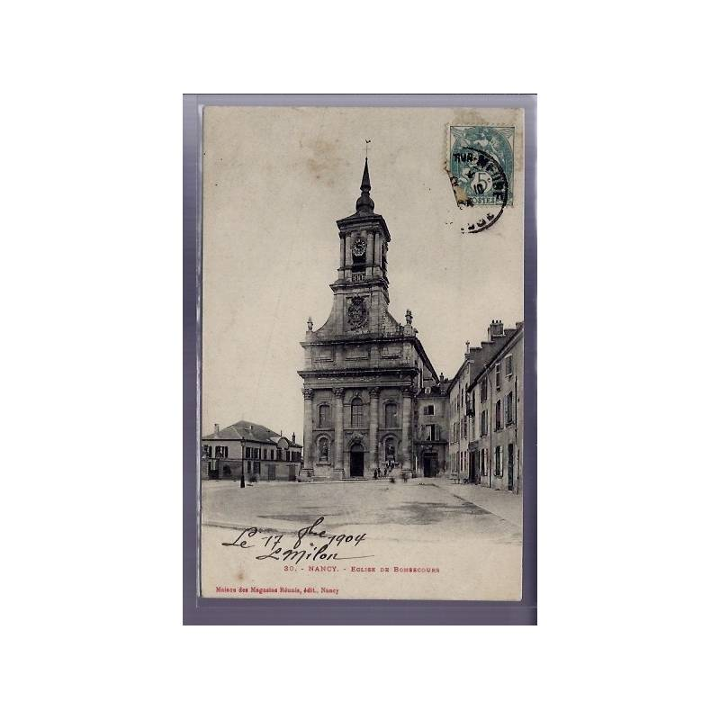 54 - Nancy - Eglise de Bonsecours - Voyagé - Dos divisé
