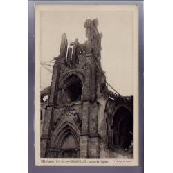 54 - Gerbeviller - La tour de l'église - Guerre 1914-1915 - Non voyagé - Dos