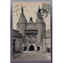 54 - Nancy - Porte de la Craffe - Voyagé - Dos divisé