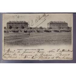 55 - Verdun - Casernes de Bevaux 1884-1886 - Voyagé - Dos non divisé