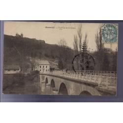 55 - Montmédy - Le Pont de la Chiers - Voyagé - Dos divisé