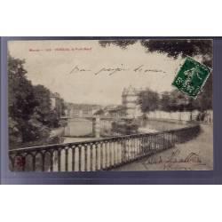 55 - Verdun - Le Pont-Neuf - Voyagé - Dos divisé