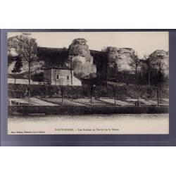 55 - Saint-Mihiel - Les roches ou Dames de la Meuse - Non voyagé - Dos divisé