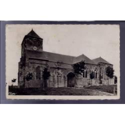 55 - Dun-sur-Meuse - Eglise Notre-Dame - Voyagé - Dos divisé