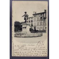55 - Verdun - Place Chevert - Voyagé - Dos non divisé