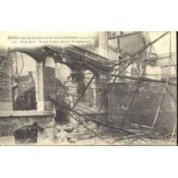51 - REIMS BOMBARDE -MAISON POULLOT PLACE BARRE