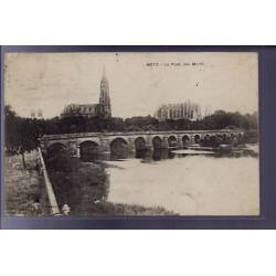 57 - Metz - Le pont des Morts - Voyagé - Dos divisé