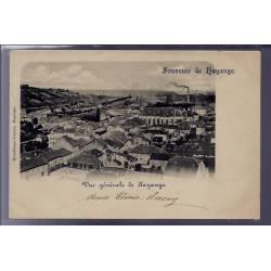"""57 - Hayange - carte """" souvenir de Hayange"""" - Vue générale de Hayange - Voyag"""