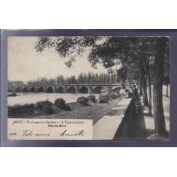 57 - Metz - Pont des Morts - Voyagé - Dos non divisé