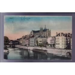 57 - Metz - St-Ludwigsstaden - Quai St-Louis - Voyagé - Dos divisé
