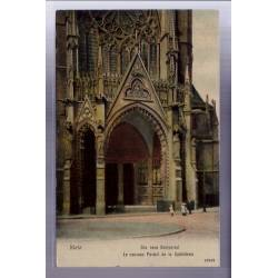57 - Metz - Das neue Domportal - Le nouveau portail de la Cathédrale - Voyagé