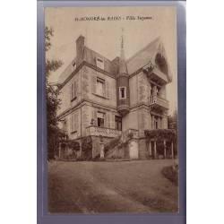 58 - St-Honoré-les-Bains - Villa Suzanne - Non voyagé - Dos divisé