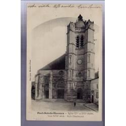 60 - Pont-Sainte-Maxence - Eglise XVe et XVIe siècles - tour XVIIe siècle - s