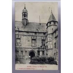 60 - Noyon - Intérieur de l' Hôtel de Ville - Voyagé - Dos divisé