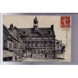 60 - Noyon - L' Hôtel de Ville - Voyagé - Dos divisé