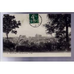 60 - Beauvais - vue panoramique - Voyagé - Dos divisé