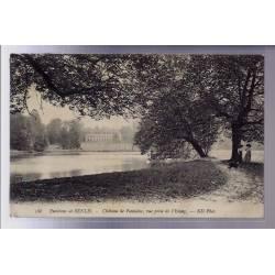 60 - Environs de Senlis - Château de Fontaine - vue prise de l' étang - Voyag