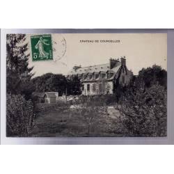 60 - Château de Courcelles - Voyagé - Dos divisé