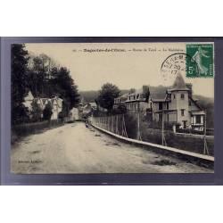 61 - Bagnoles-de-l'Orne - route de Tessé - La Madeleine - Voyagé - Dos divisé