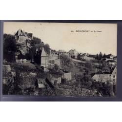 61 - Domfront - Le pavé - Voyagé - Dos divisé