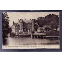 61 - Environs de Bagnoles-de-l'Orne - le château de Couterne - Voyagé - Dos d