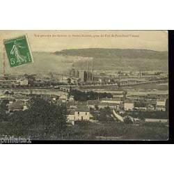 54 - Vue generale des Acieries de Neuves-Maisons