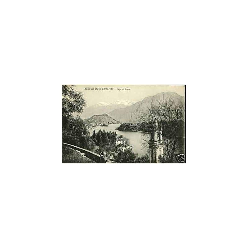 Italie - Sala ed isola Comacina - Lago di Como