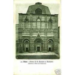 Italie - Siena - Chiesa di S. Giovanni o Battistero